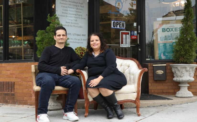 Antiquarians Damaris and Fernando Sanchez Choose to Go Out with the New and in with the Old
